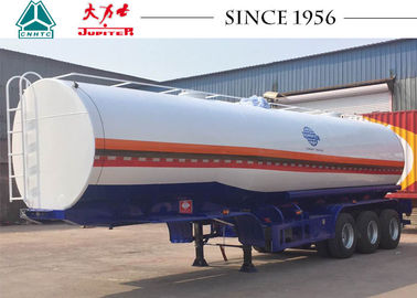 Durable 40000 Liters Tanks Trucks And Trailers Safe For Carrying Fuel / Oil