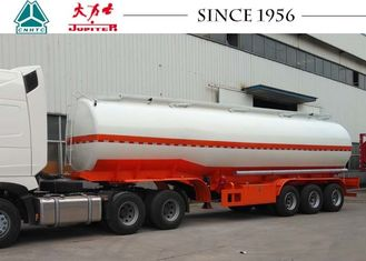 40000 Liters 3 Axles Fuel Tanker Trailer 11500*2500*3700 With Discharge Valve