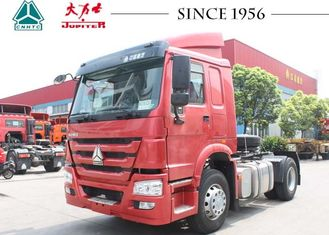 4X2 6 Wheeler HOWO Tractor Truck Large Payload For Container Transport