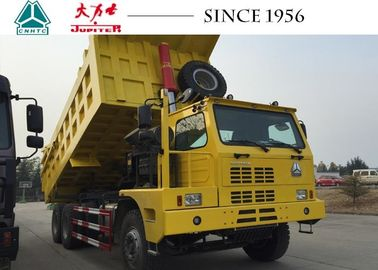 China Sinotruck Mining HOWO Dump Truck 10 Wheeler 6X4 With Euro IV Engine supplier