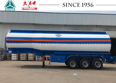 China 42000 Liters Road Fuel Tanker Trailer High Durability With Airbag Suspension factory