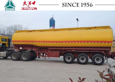 China Gasoline / Fuel Truck Trailer With Germany Type BPW Axle , High Efficiency factory
