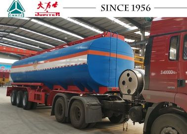 China Long Life 42000 Liters Malawi Fuel Tanker Trailer With Spring Suspension factory
