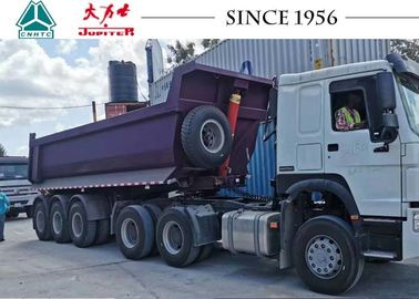 China 24CBM 30 Tons Tipper Semi Trailer Heavy Duty Dump Trailer With 3 Axle factory