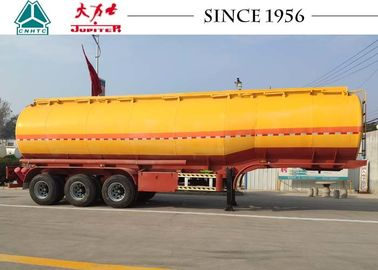 China 40K / 42K / 45K Liters Fuel Tanker Trailer With 10 Year Lifespan factory