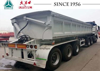 China New Side Tipper Semi-Trailer, DropSide Side Tipper Trailer For Sale distributor